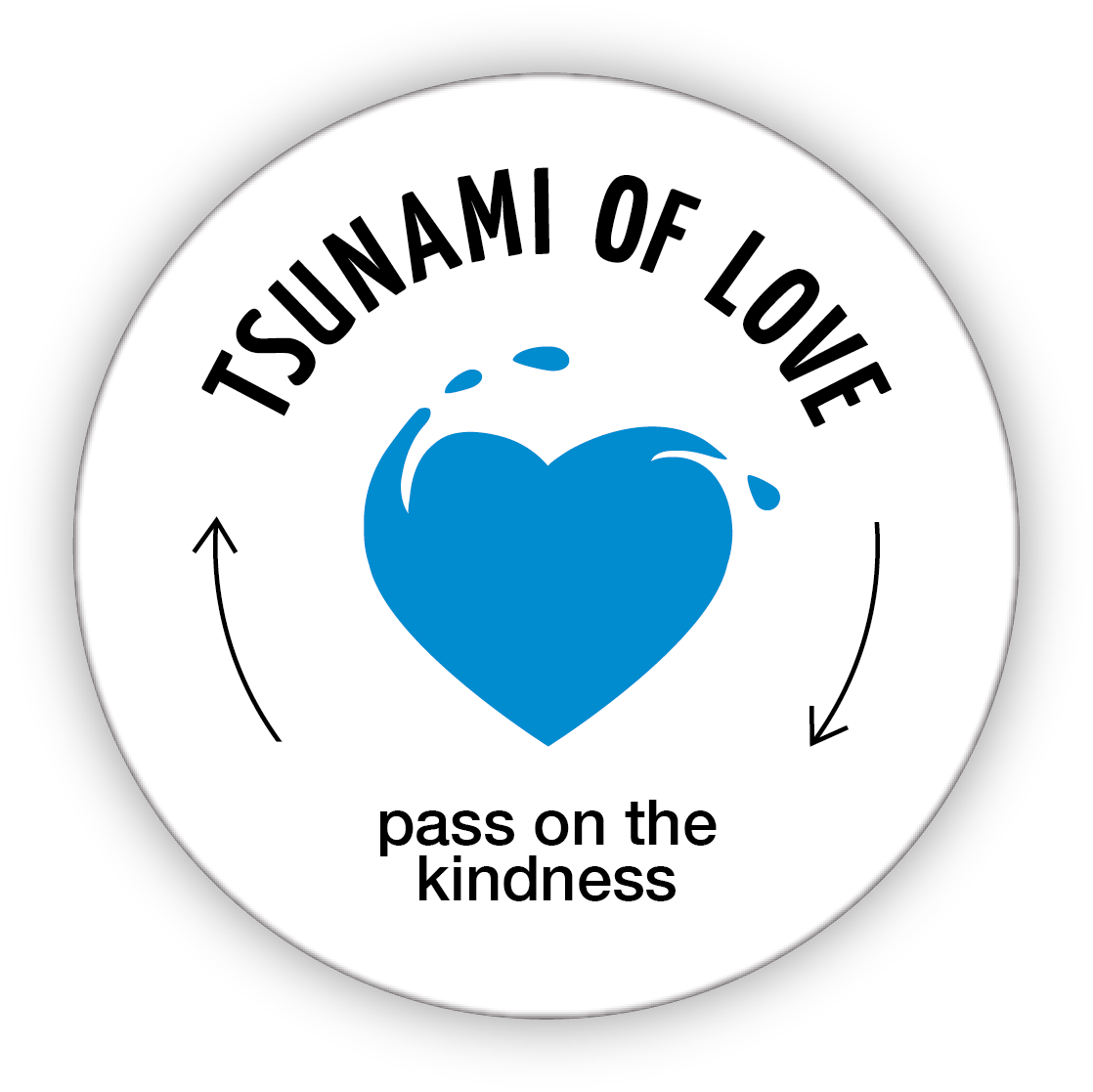 Tsunami of Love coin